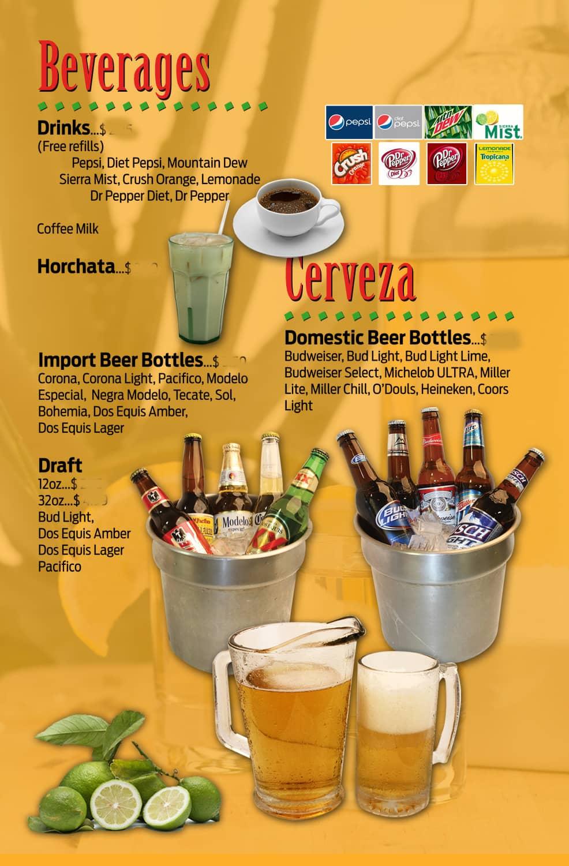 cilantros in omaha's drink menu
