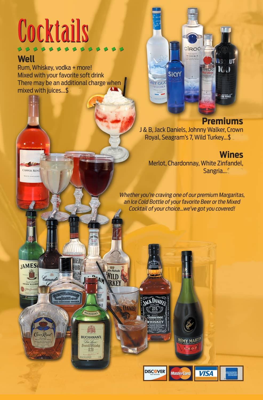 cilantros food and drink menu
